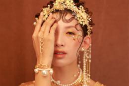 朗图时代化妆培训班:化妆造型作品