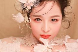 朗图时代化妆培训:化妆班作品