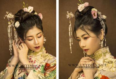 朗图时代中式新娘造型欣赏